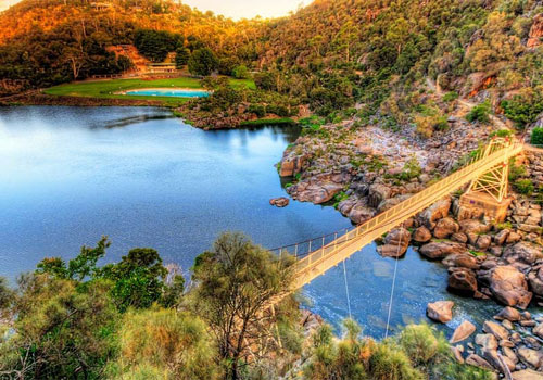 kham pha Cataract Gorge